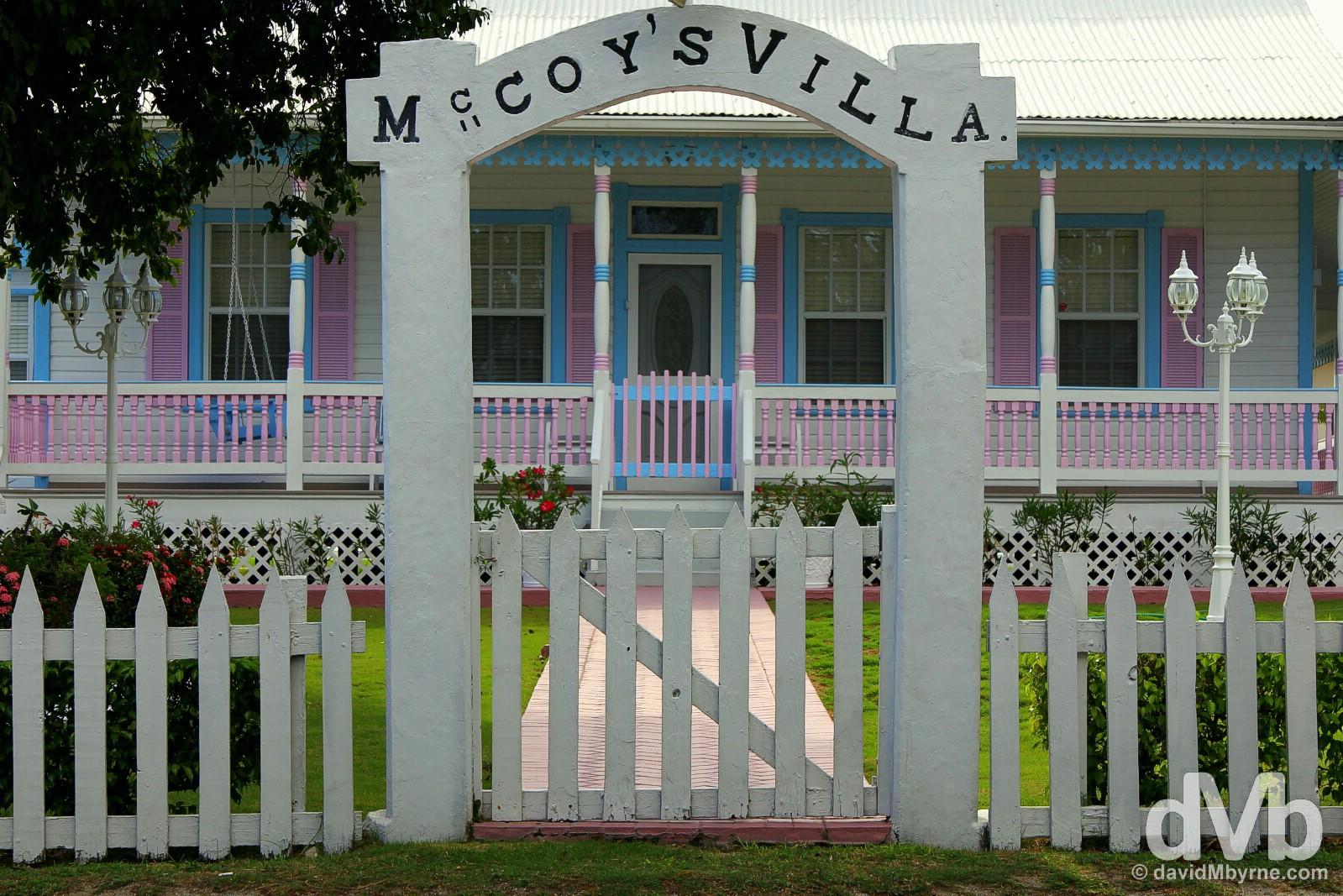 McCoy's Villa, Grand Cayman, Cayman Islands, Greater Antilles. May 12, 2015.