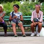 Parque Jose Marti, Cienfuegos, Cuba. May 7, 2015.
