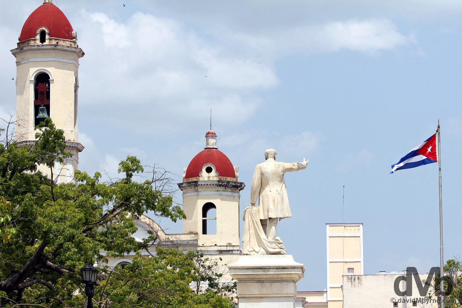 Parque Jose Marti, Cienfuegos, Cuba. May 8, 2015.