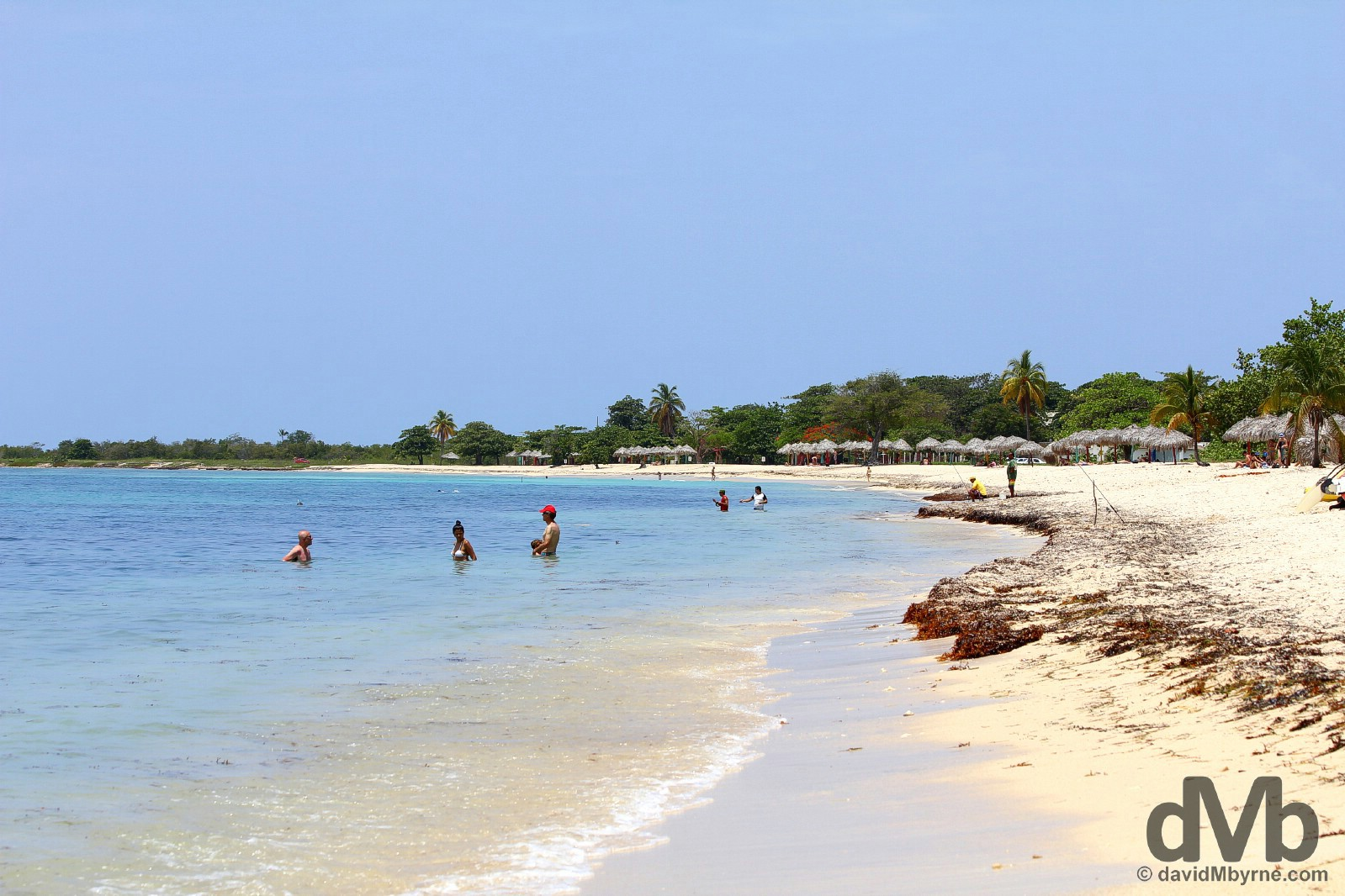 Playa Ancon, Cuba. May 6, 2015.