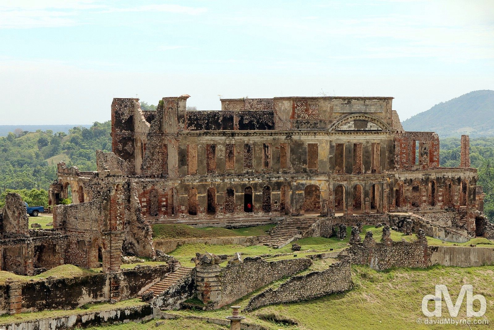 Sans Souci Palace, Milot, northern Haiti, Hispaniola, Greater Antilles. May 22, 2015.
