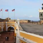 Castillo San Felipe del Morro in Old San Juan, Puerto Rico, Greater Antilles. June 2, 2015.