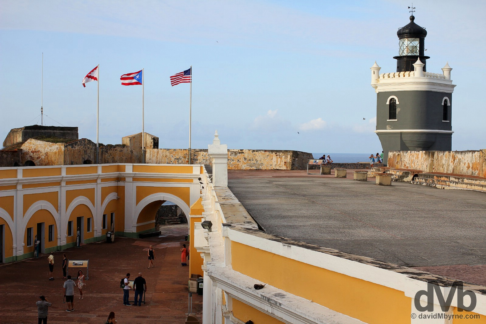 Castillo San Felipe del Morro in Old San Juan, Puerto Rico, Greater Antilles. June 2, 2015.