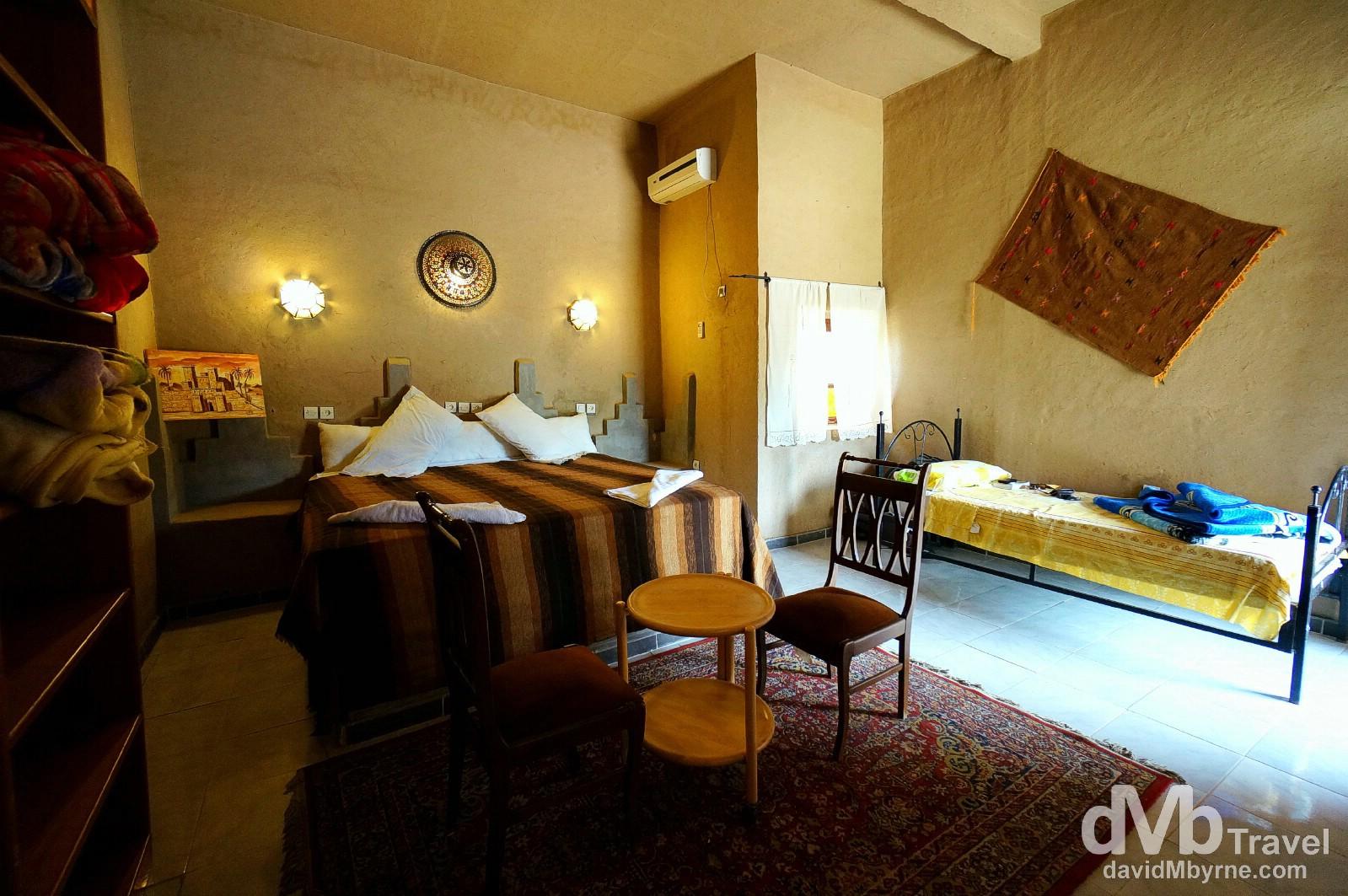 Hotel Haven la Chance/Auberge La Chance, Merzouga, southeastern Morocco. May 21, 2014.