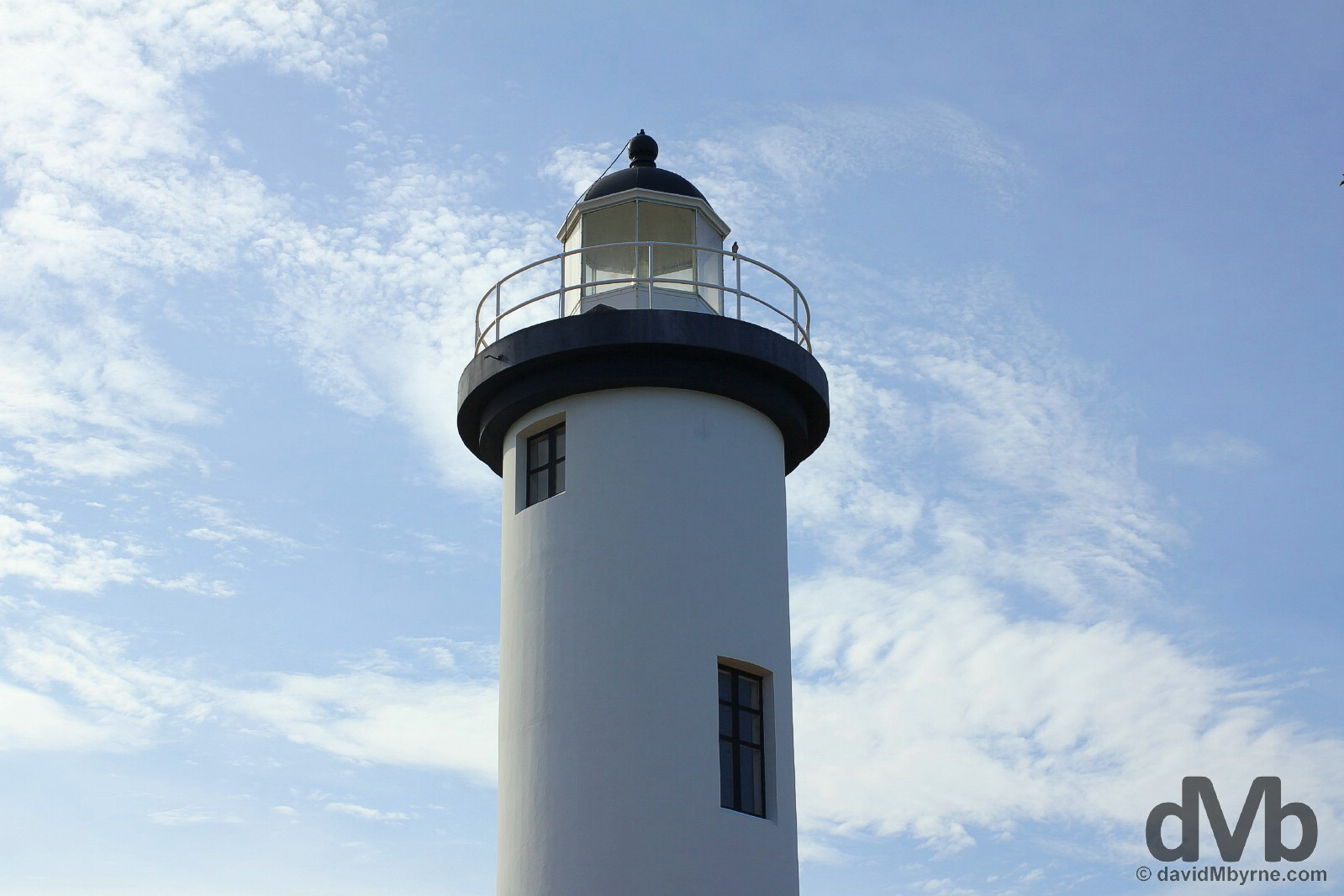 The lighthouse in Rincon, western Puerto Rico, Greater Antilles. June 4, 2015.
