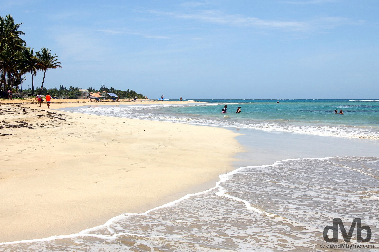 Playa Luquillo, eastern Puerto Rico, Greater Antilles. June 5, 2015.