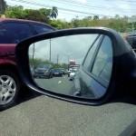 A flight-missing traffic jam on Highway 3 (PR-3) outside Fajardo eastern Puerto Rico, Greater Antilles. June 6, 2015.