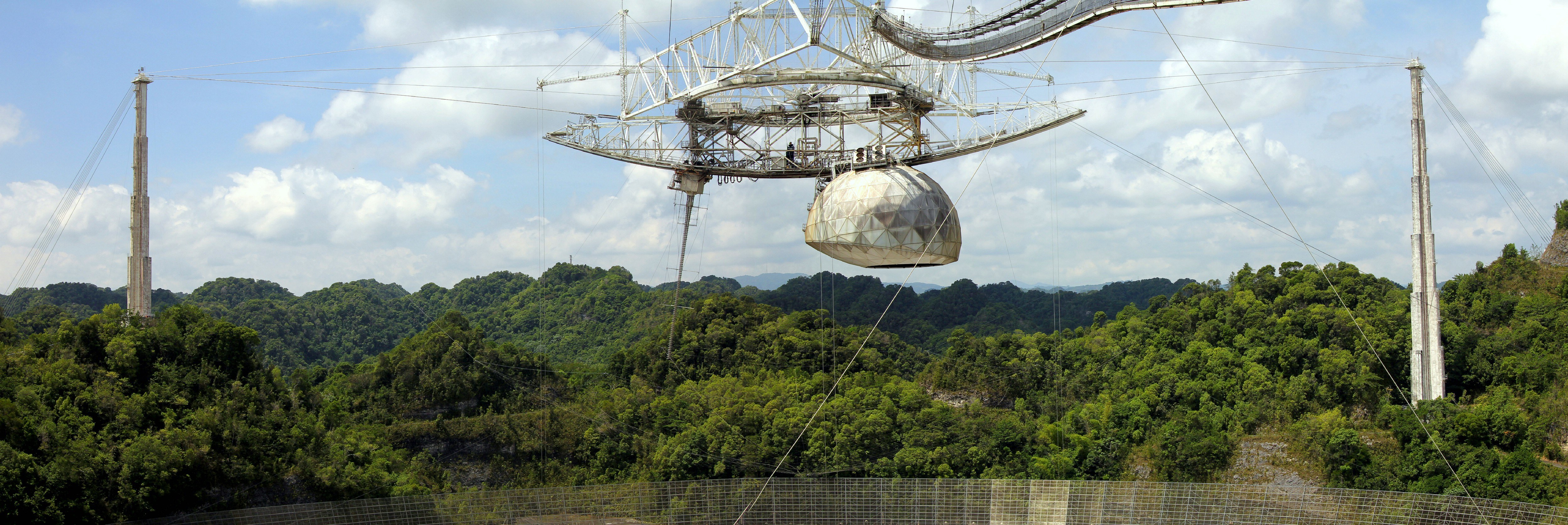 Arecibo Observatory, Arecibo, Puerto Rico, Greater Antilles. June 4, 2015.