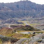 Badlands National Park, South Dakota, USA. September 1, 2016.