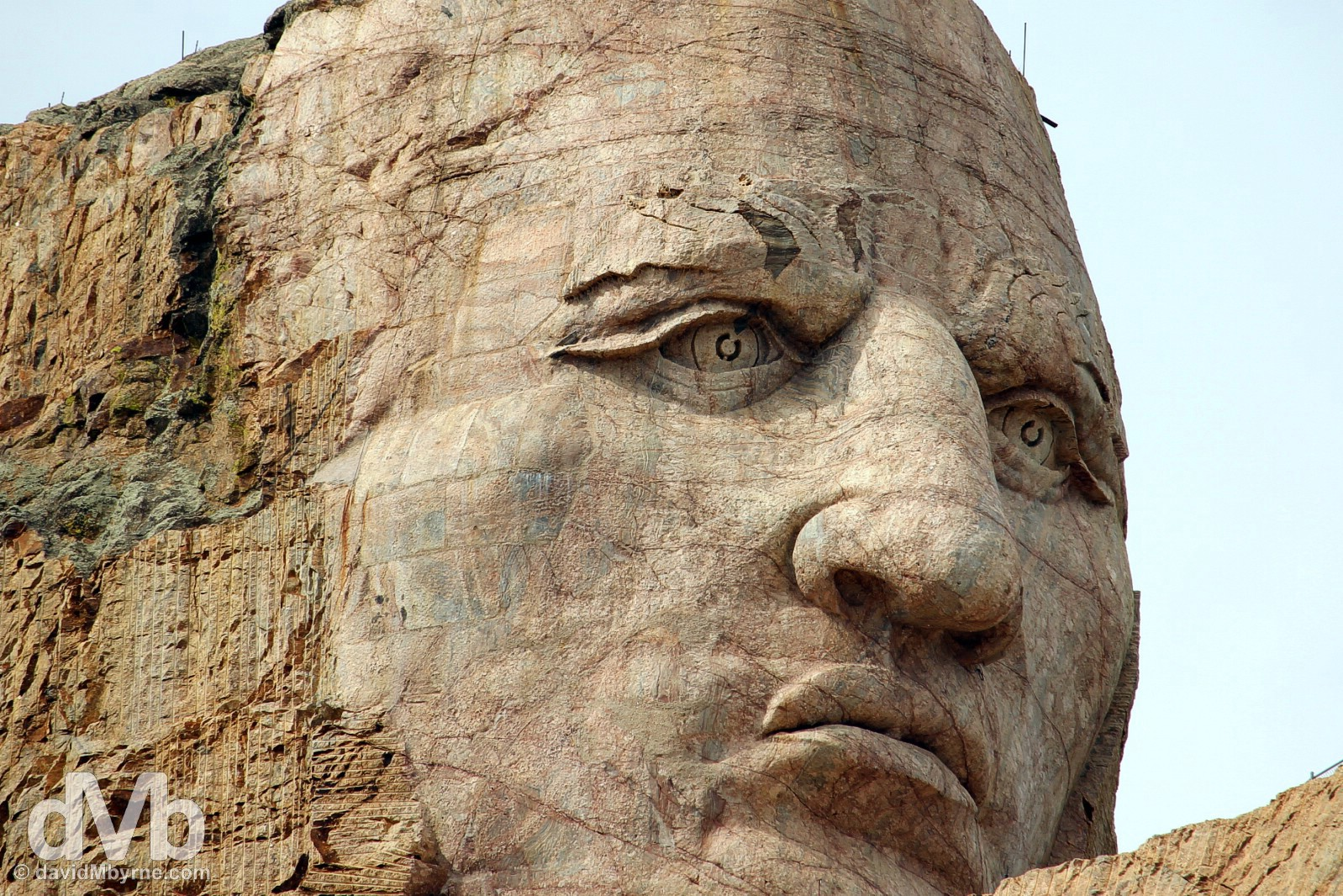 Crazy Horse Memorial, Black Hills, South Dakota, USA. September 1, 2016.