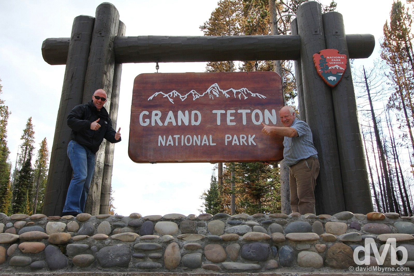 Grand Teton National Park, Wyoming. September 5, 2016.