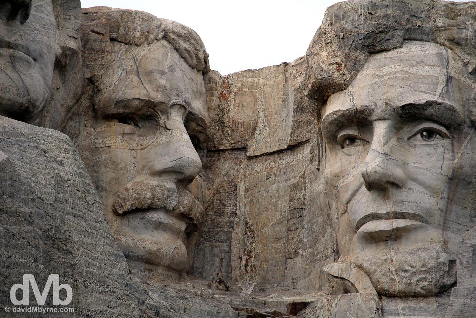 Mount Rushmore National Memorial, Black Hills, South Dakota, USA. September 2, 2016.
