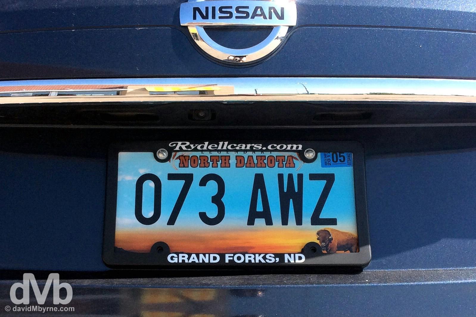 Grand Forks, North Dakota, USA. August 31, 2016.