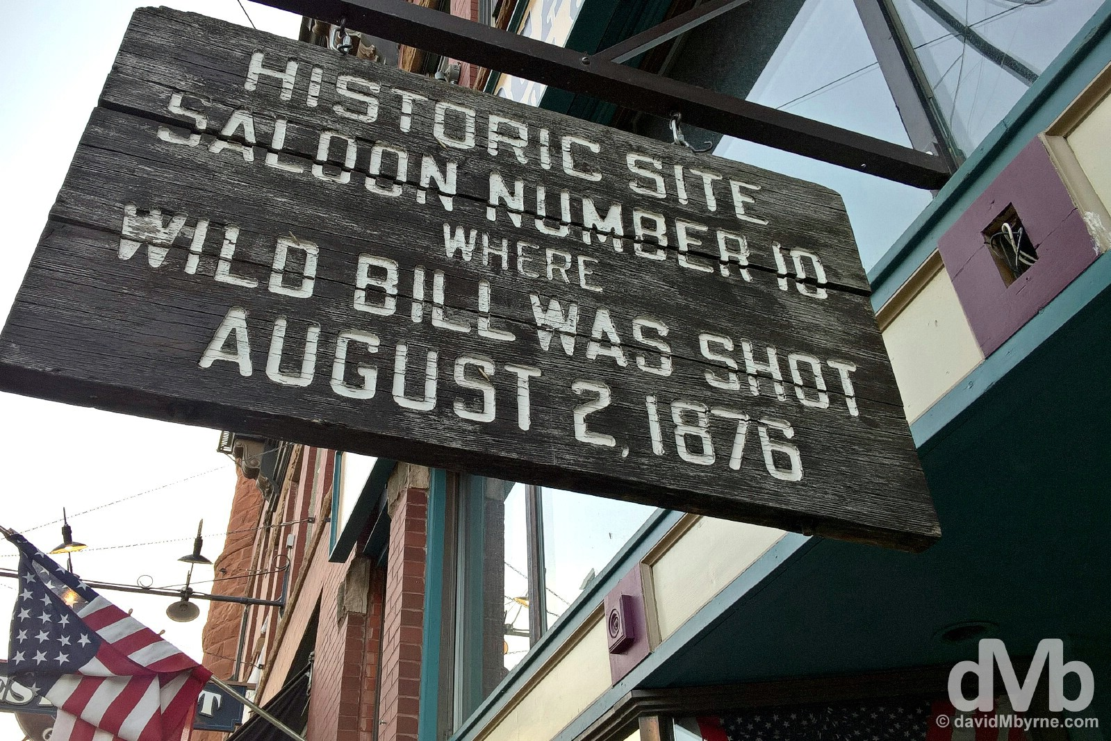Saloon Number 10, Historic Main Street Deadwood, Black Hills, South Dakota, USA. September 1, 2016.
