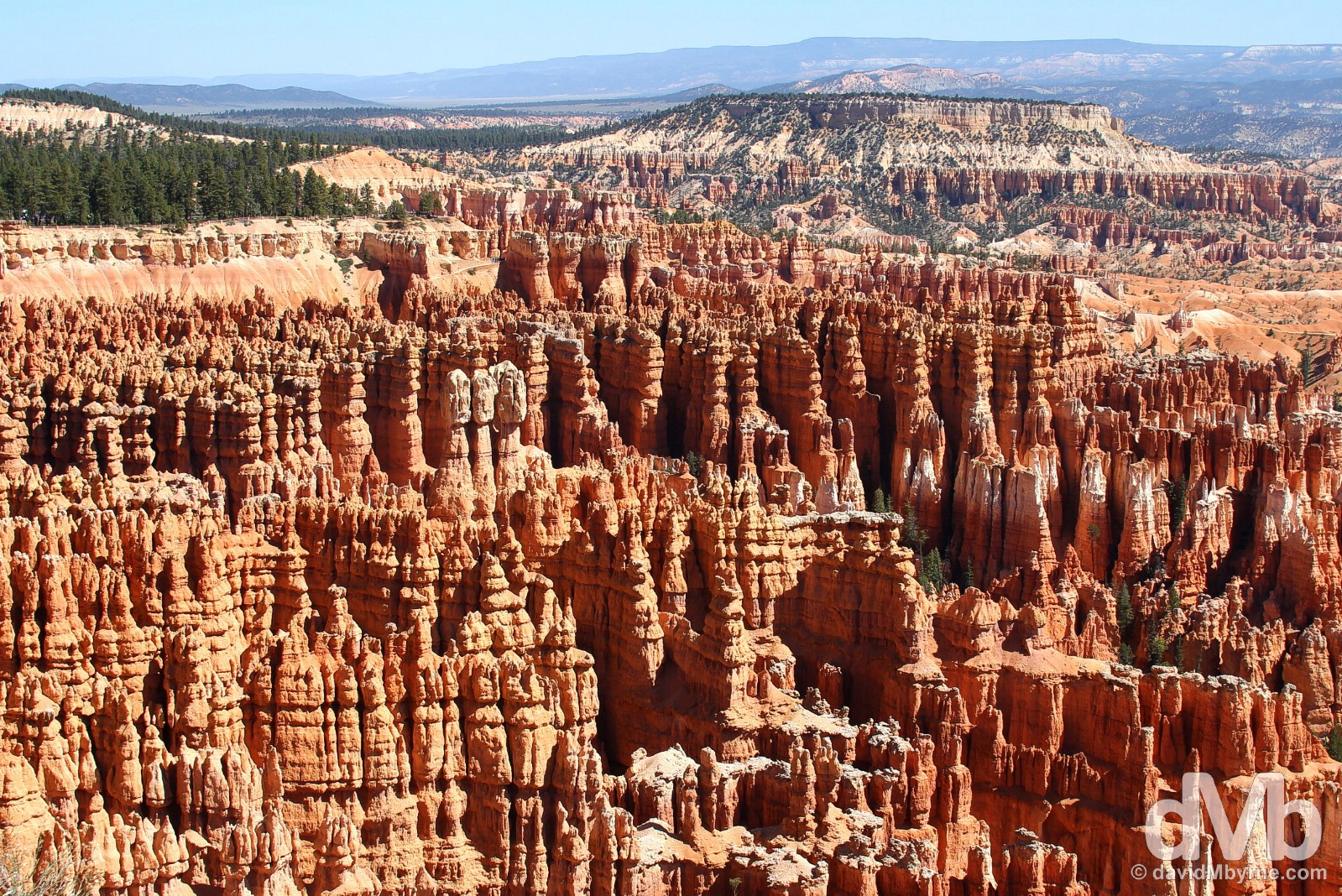 The Bryce Amphitheater of Bryce Canyon National Park, Utah, USA. September 8, 2016.