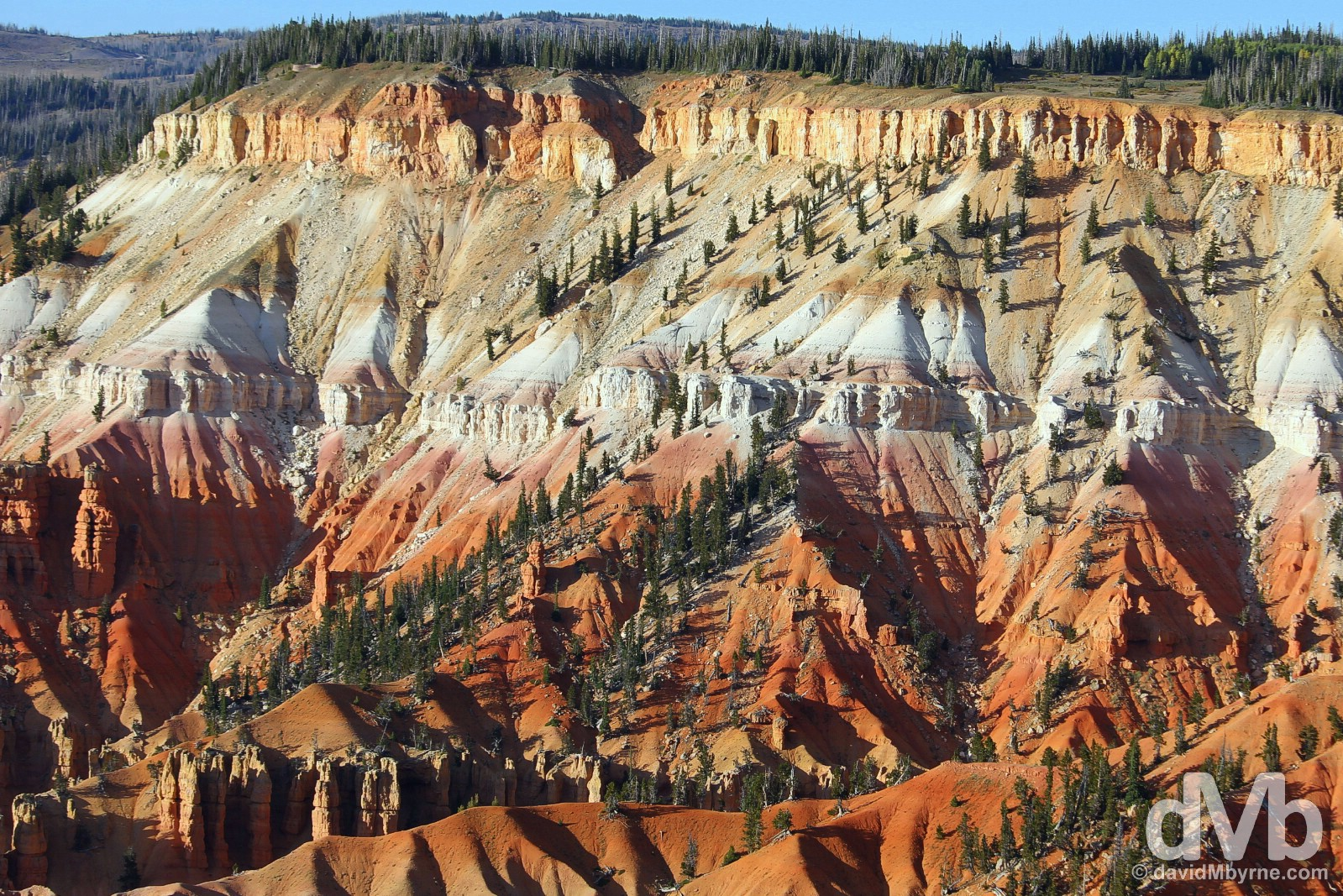 Cedar Breaks National Monument off State Route 143, Utah's Patchwork Parkway, Iron County, southern Utah, USA. September 7, 2016.
