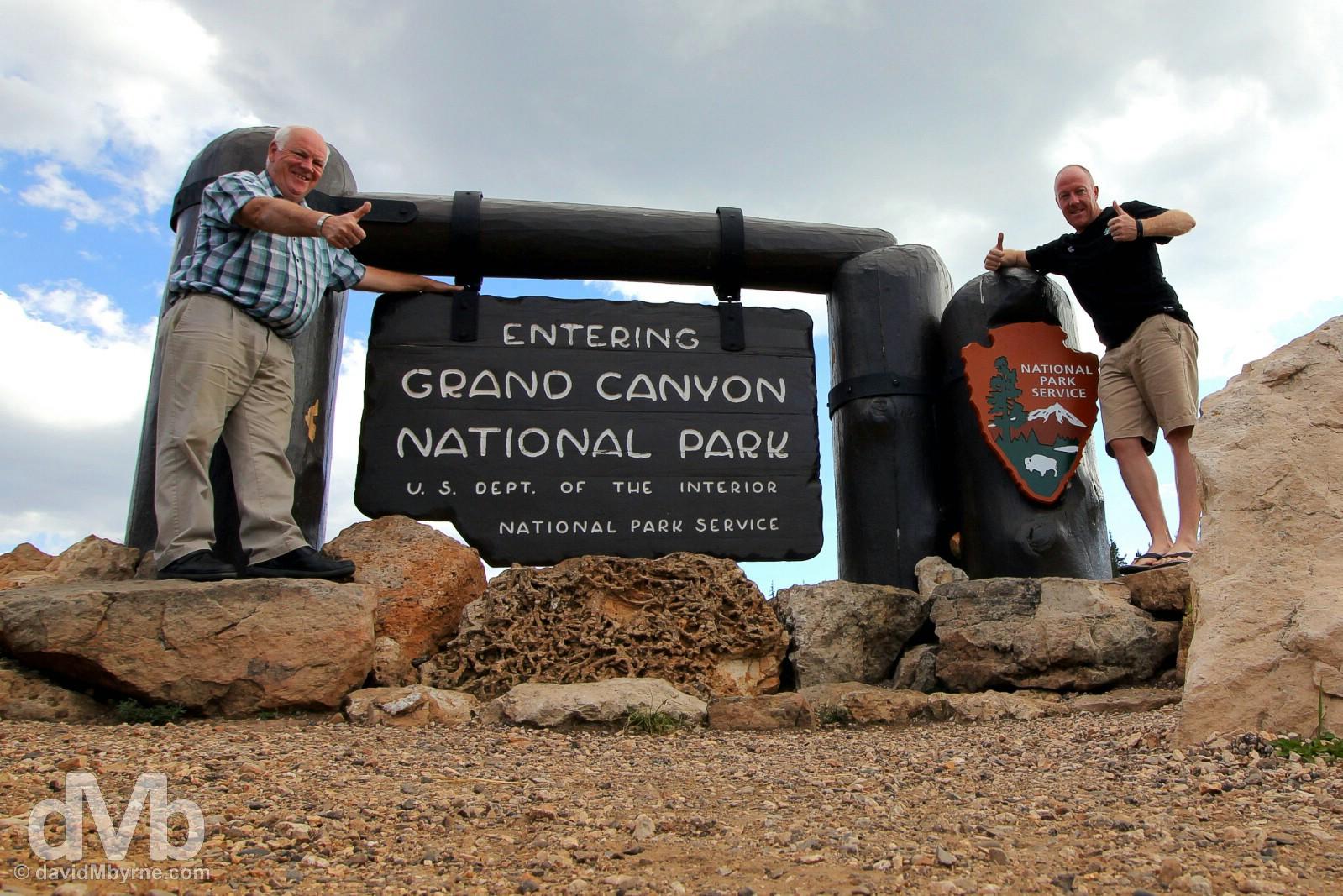Grand Canyon National Park North Rim, Arizona, USA. September 9, 2016.