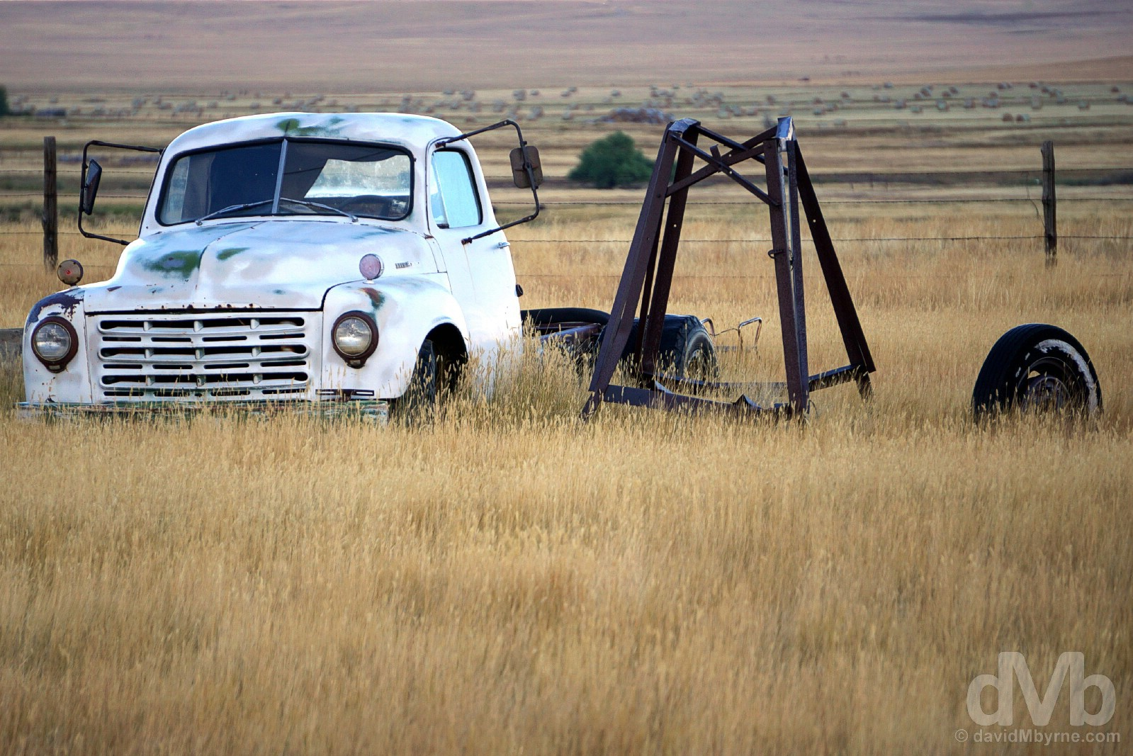 Abandoned by the side of US Route 30 in Albany County, Wyoming, USA. September 14, 2016.
