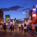 Beale Street, Memphis, Tennessee, USA. September 18, 2016.