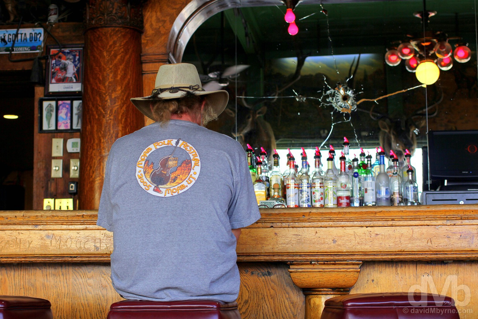 The Buckhorn Bar, Laramie, Wyoming, USA. September 14, 2016.
