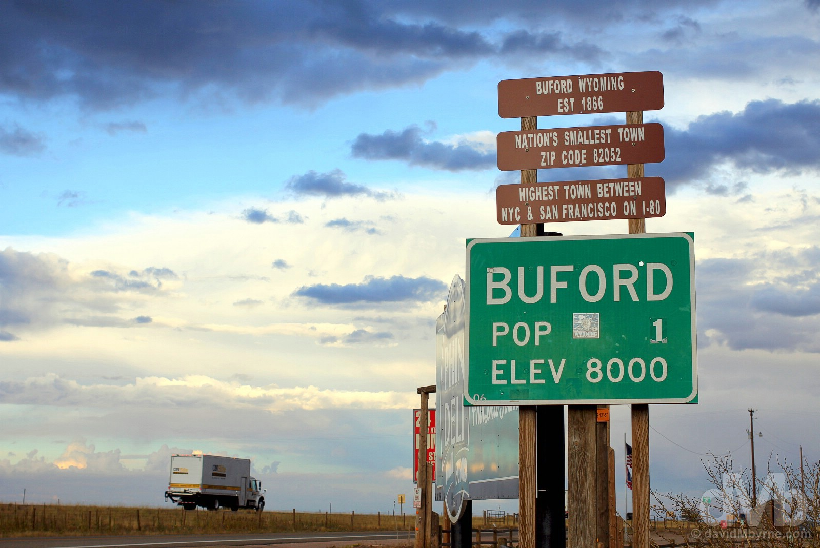Buford, off Interstate 80, southern Wyoming, USA. September 14, 2016.