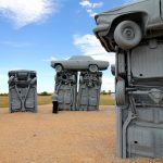 Carhenge, Alliance, Nebraska, USA. September 15, 2016.