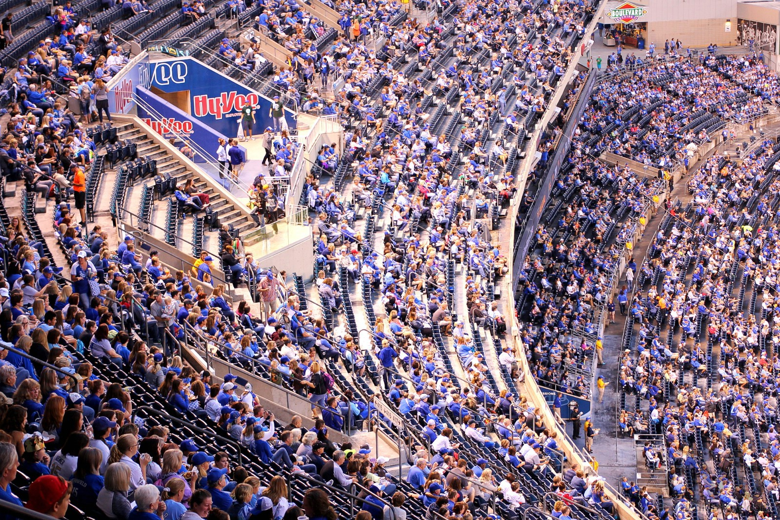 Royals Vs. White Sox, Kauffman Stadium, Kansas City, Missouri. September 16, 2016.