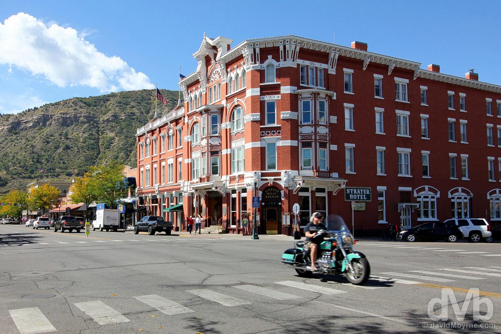 Main Avenue, Durango, Colorado. September 12, 2016.