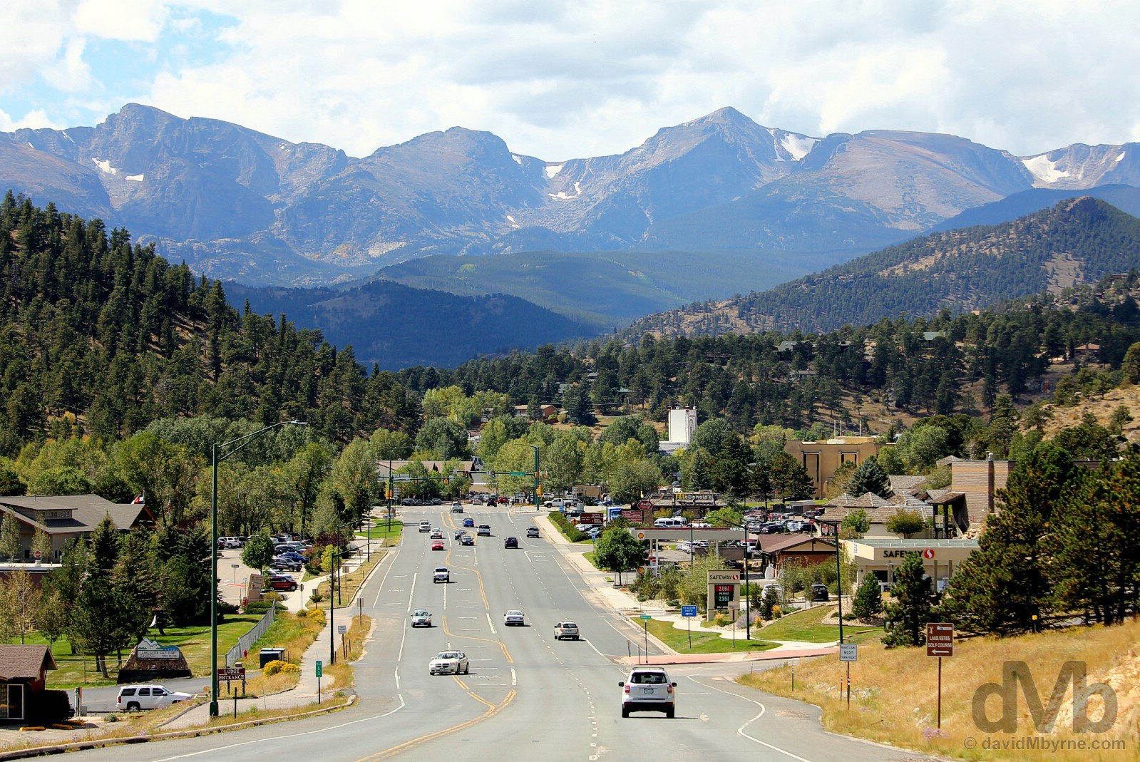 Estes Park, north-central Colorado, USA. September 14, 2016.