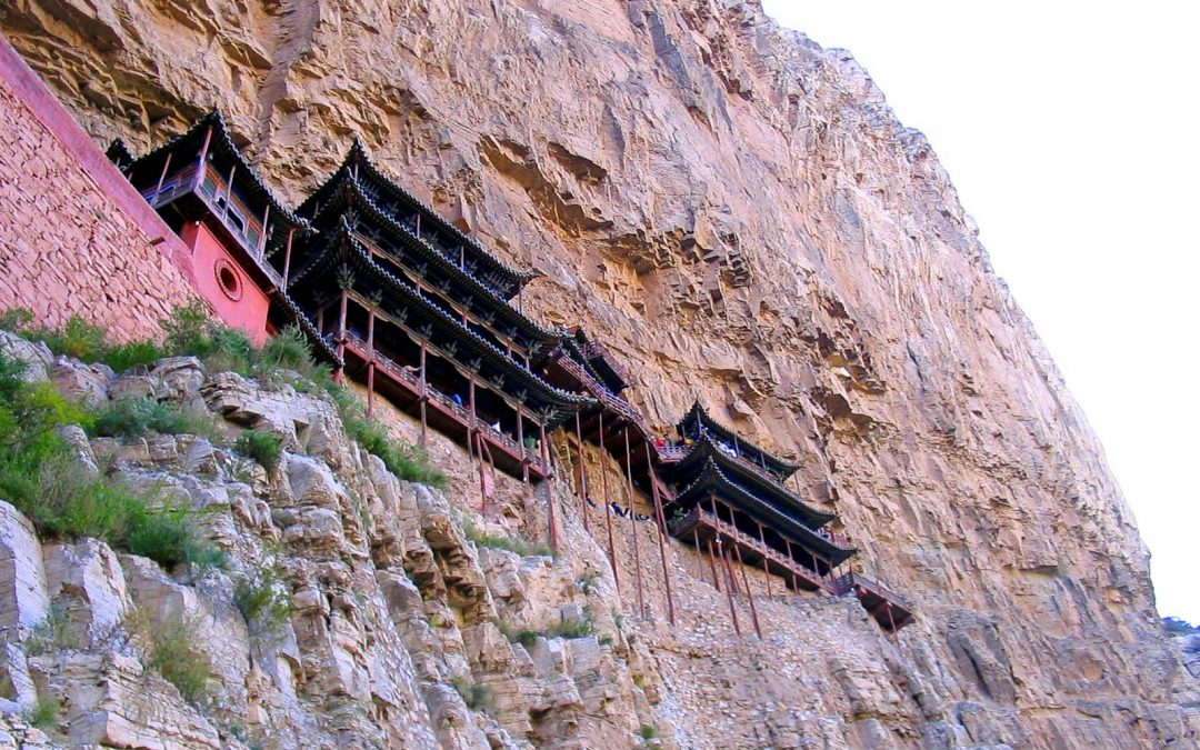 The Hanging Temple of Heng Shan, China