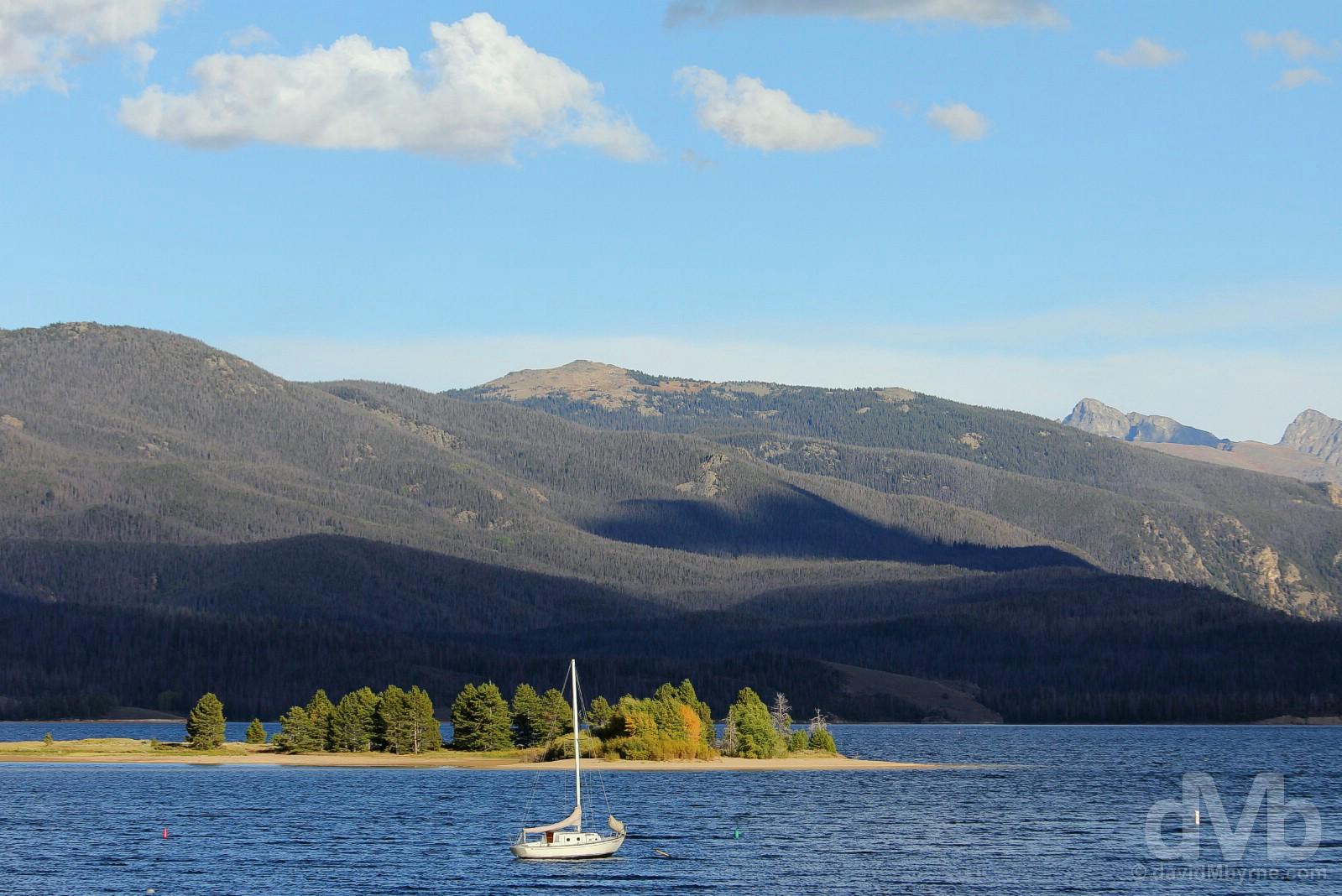 Lake Granby, north-central Colorado, USA. September 13, 2016.