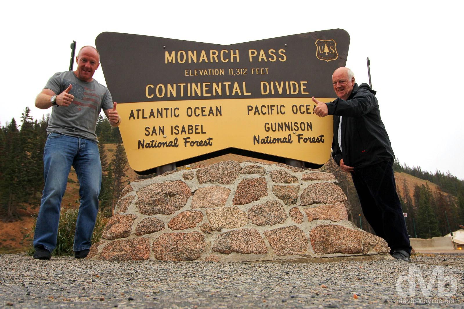 Monarch Pass, south-central Colorado, USA. September 12, 2016.