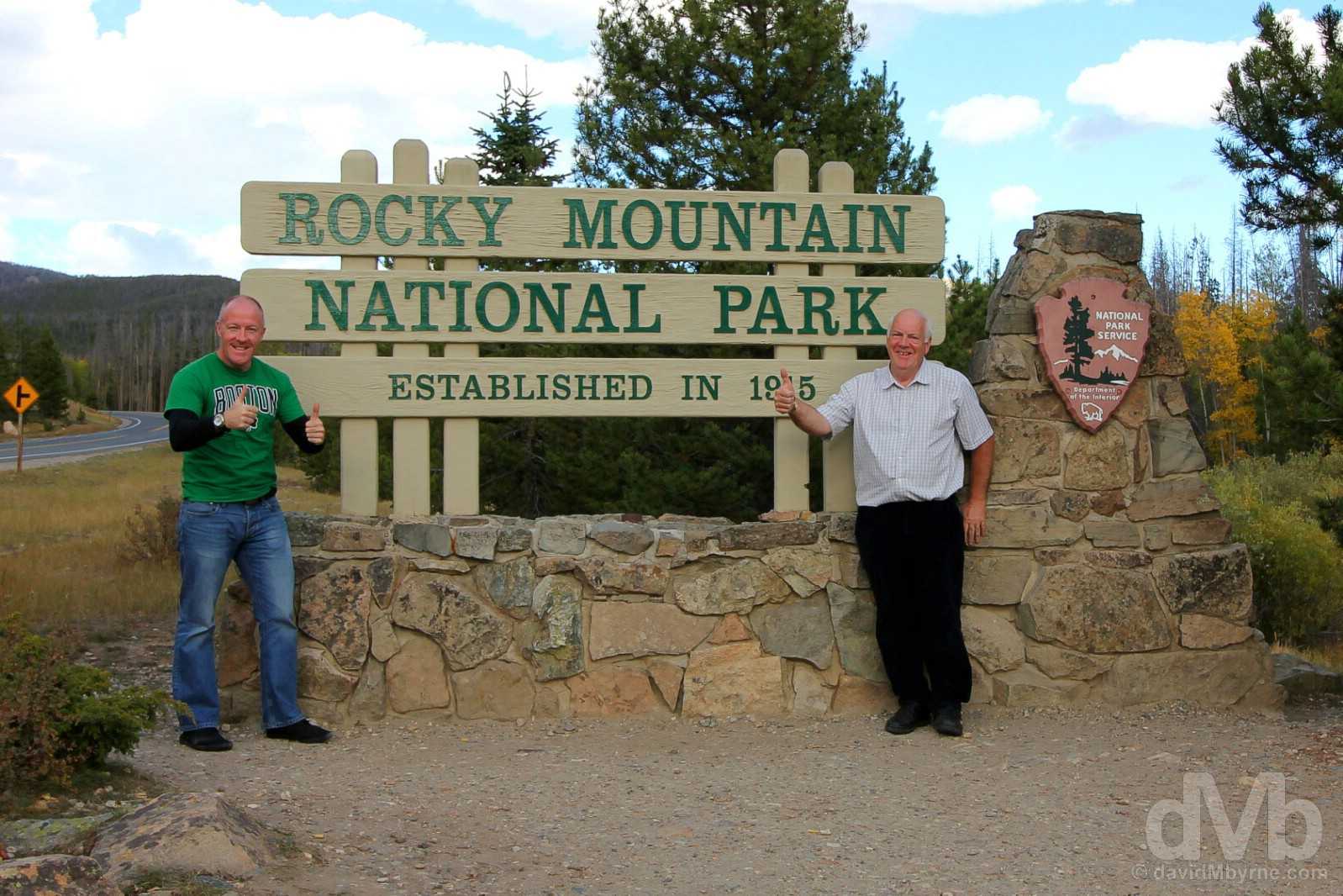 Rocky Mountain National Park, north-central Colorado, USA. September 13, 2016.