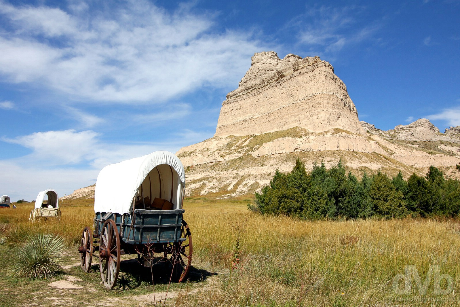 Scotts Bluff National Monument, Scotts Bluff County, western Nebraska, USA. September 15, 2016.