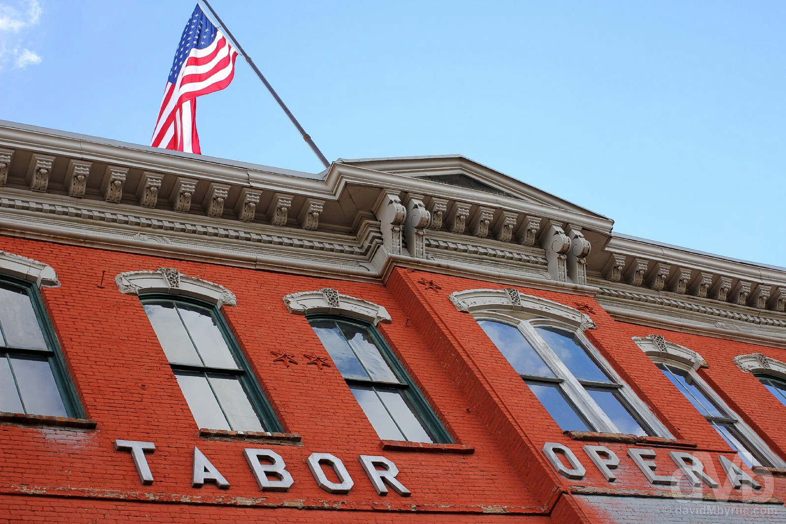 The Tabor Opera House, Harrison Avenue, Leadville, central Colorado, USA. September 13, 2016.