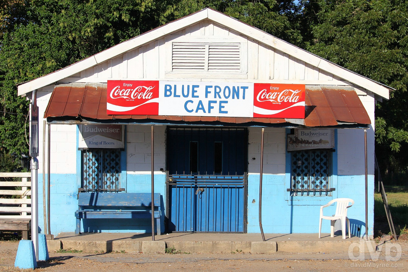 The Blue Front Cafe, Bentonia, Mississippi, USA. September 19, 2016.