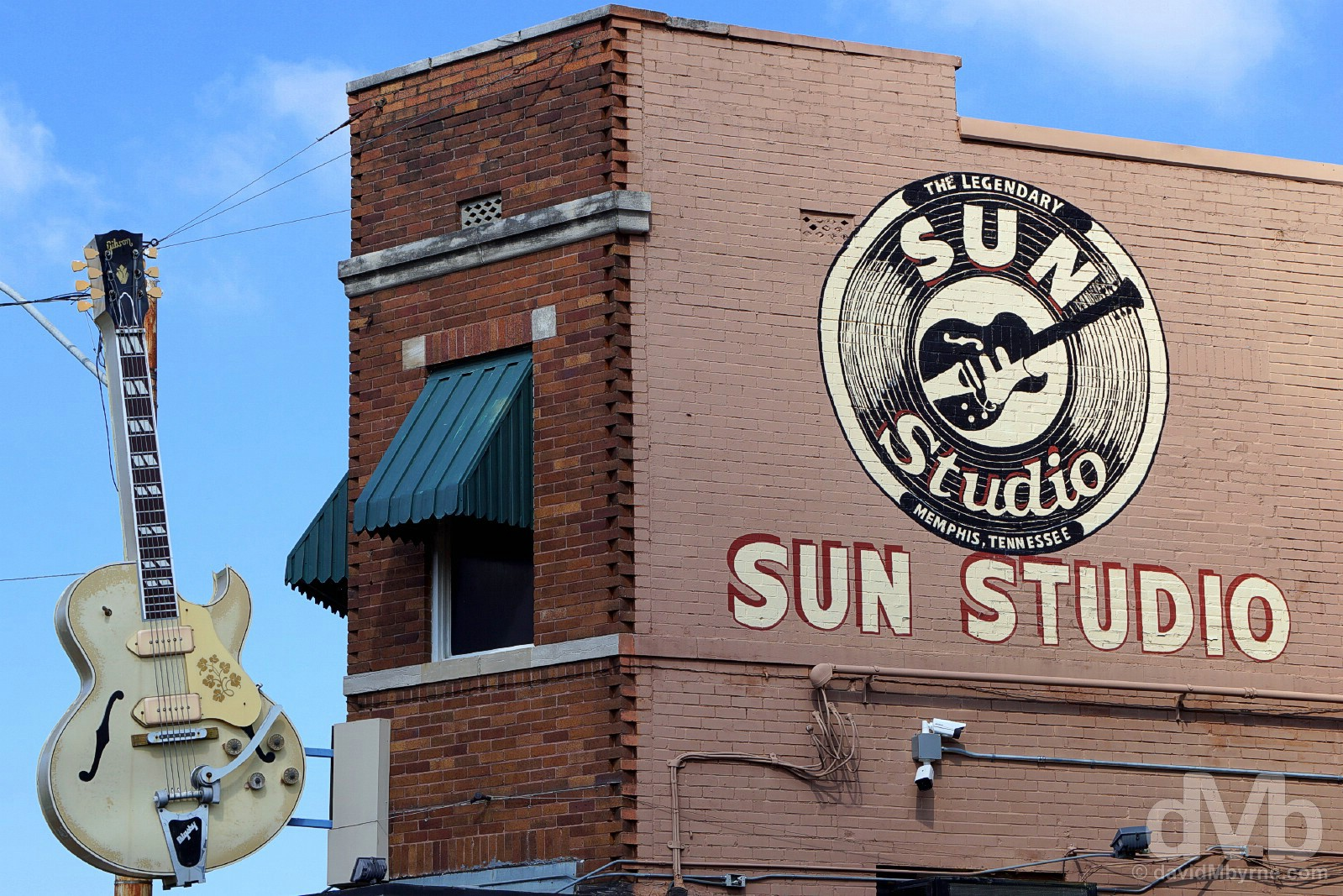 Sun Studios, Memphis, Tennessee, USA. September 19, 2016.