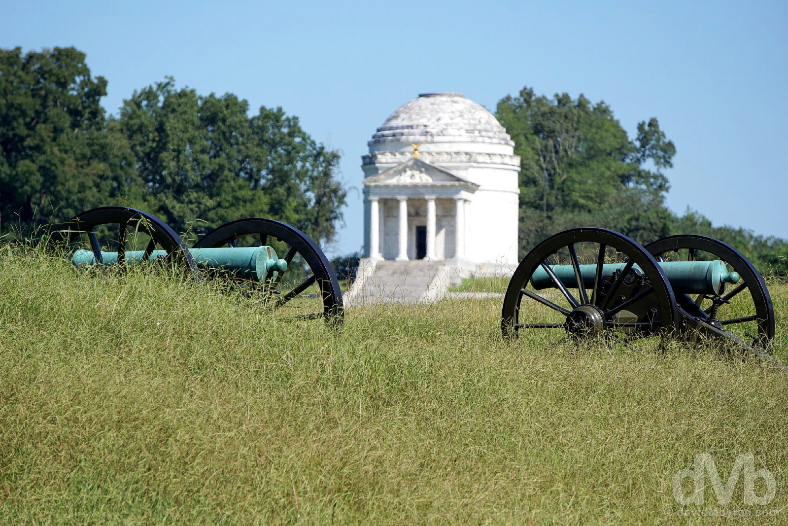 Vicksburg National Military Park, Vicksburg, Mississippi, USA. September 20, 2016.