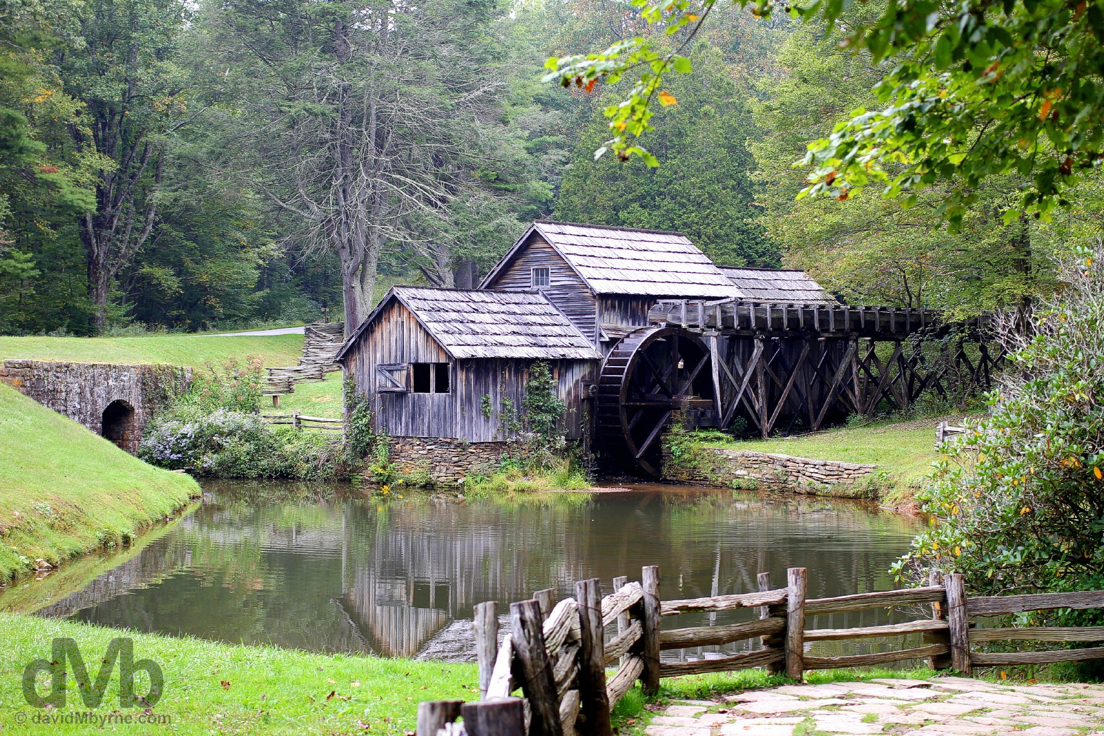 Mabry Mill of the All-American Blue Ridge Parkway in Virginia, USA. September 25, 2015.