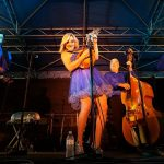 Rhonda Vincent & The Rage. Rex Fest, Galax, Virginia, USA. September 24, 2016.