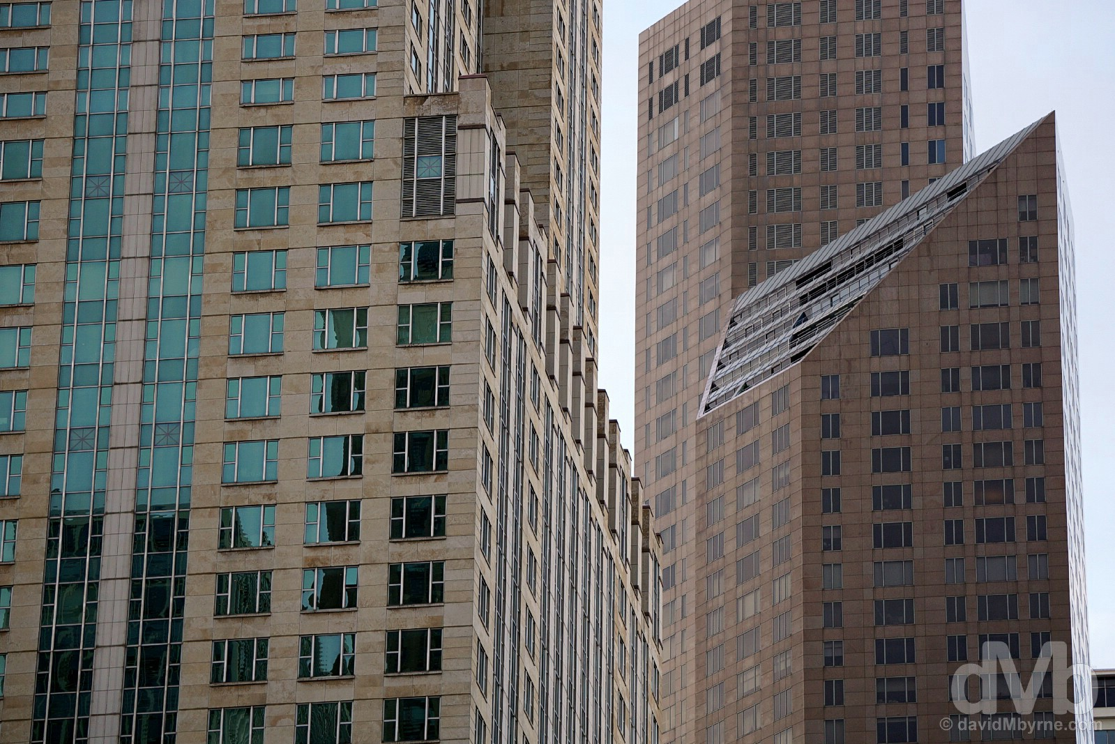 Architecture of the Magnificent Mile, Chicago, Illinois, USA. October 1, 2016.