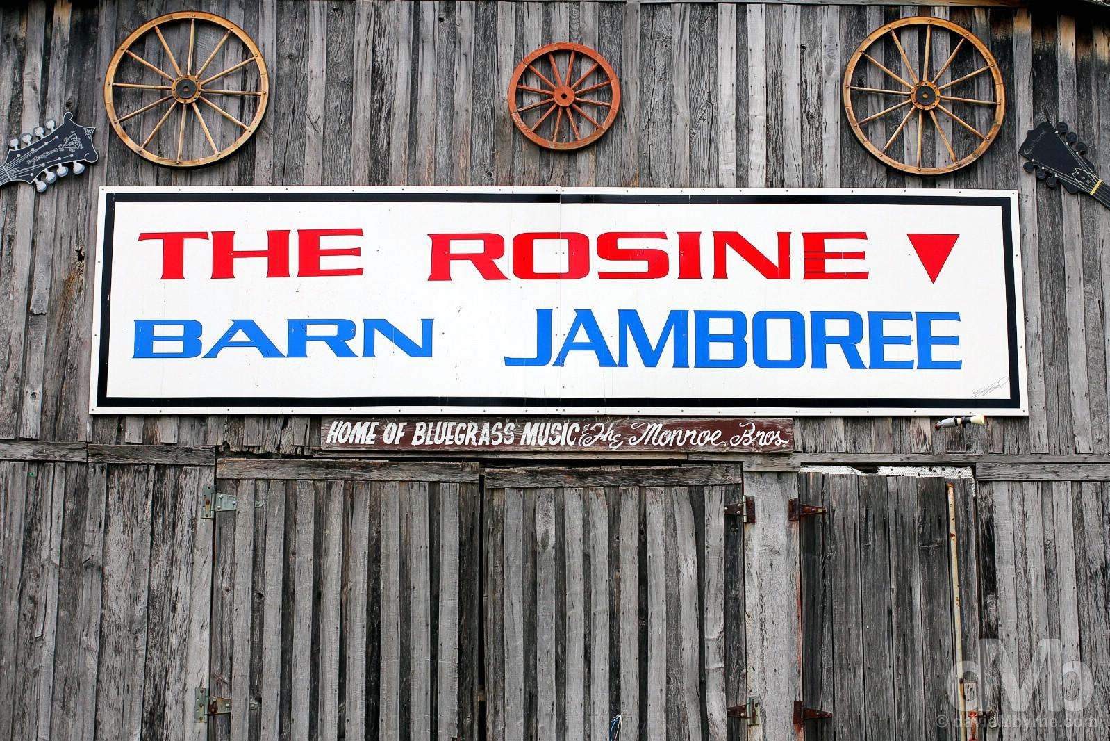 The Barn Jamboree in Rosine, Ohio County, Kentucky, USA. September 28, 2016.