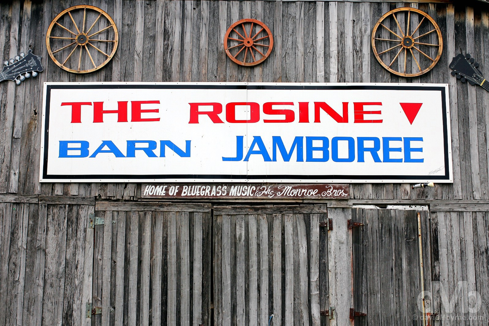 The Barn Jamboree in Rosine, Ohio County, Kentucky, USA. September 28, 2016.