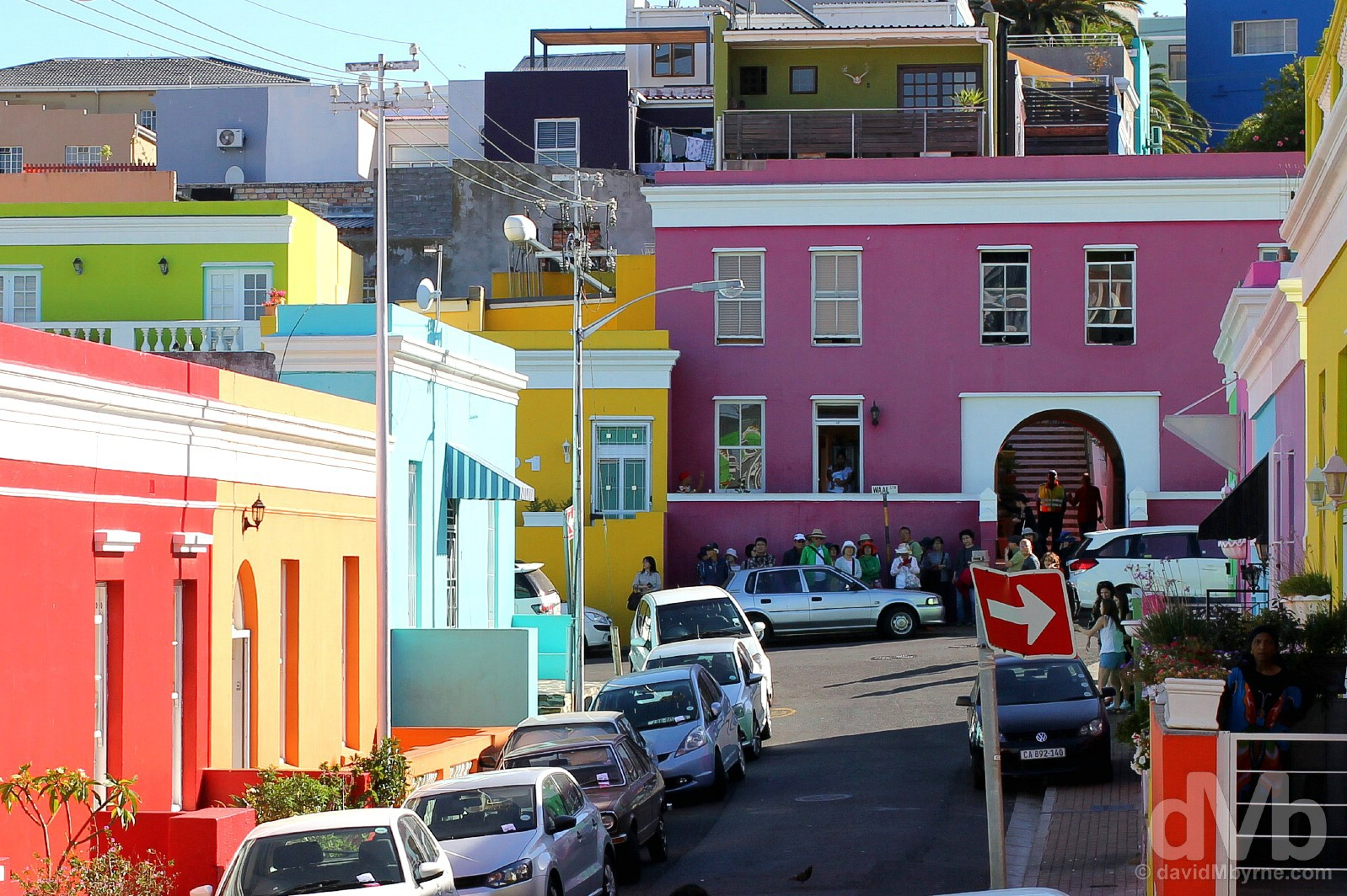 Bo-Kaap, Cape Town, Western Cape, South Africa. February 16, 2017.
