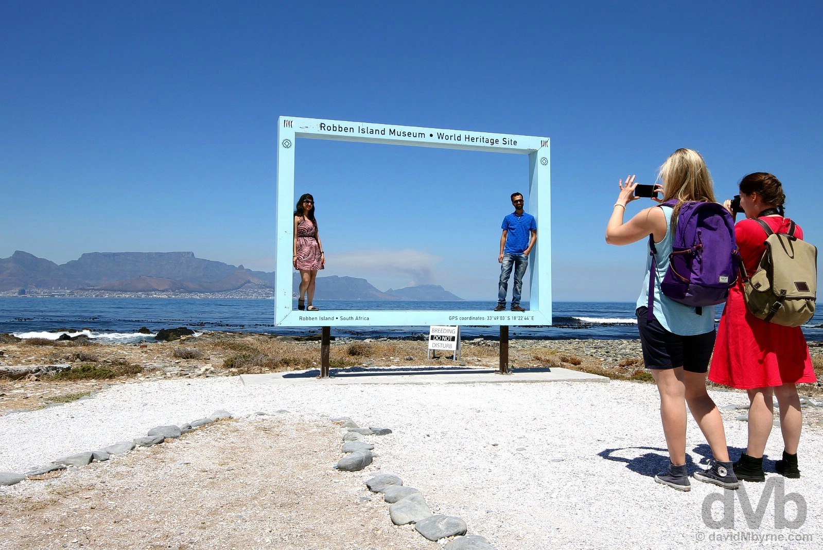 Framed. Robben Island, Table Bay, Western Cape, South Africa. February 22, 2017.