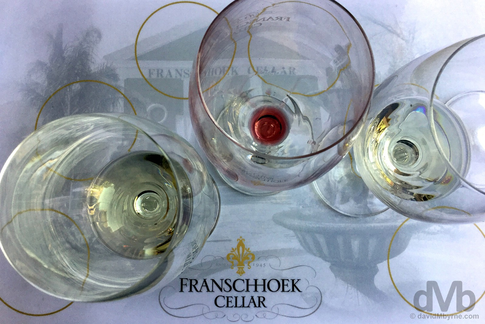 Wine tasting at the Franschhoek Cellar, Franschhoek, Western Cape, South Africa. February 20, 2017.