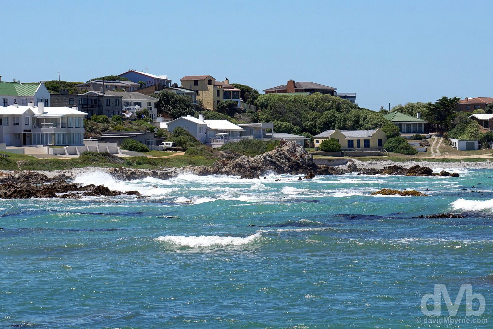 Van Dyks Bay, Kleinbaai, Overberg, Western Cape, South Africa. February 21, 2017.