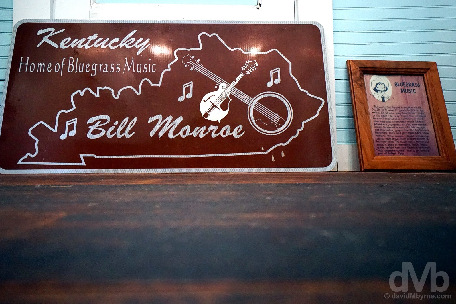 Bill Monroe's Old Homeplace on Pigeon Ridge in the hills over Rosine, Ohio County, Kentucky, USA. September 28, 2016.