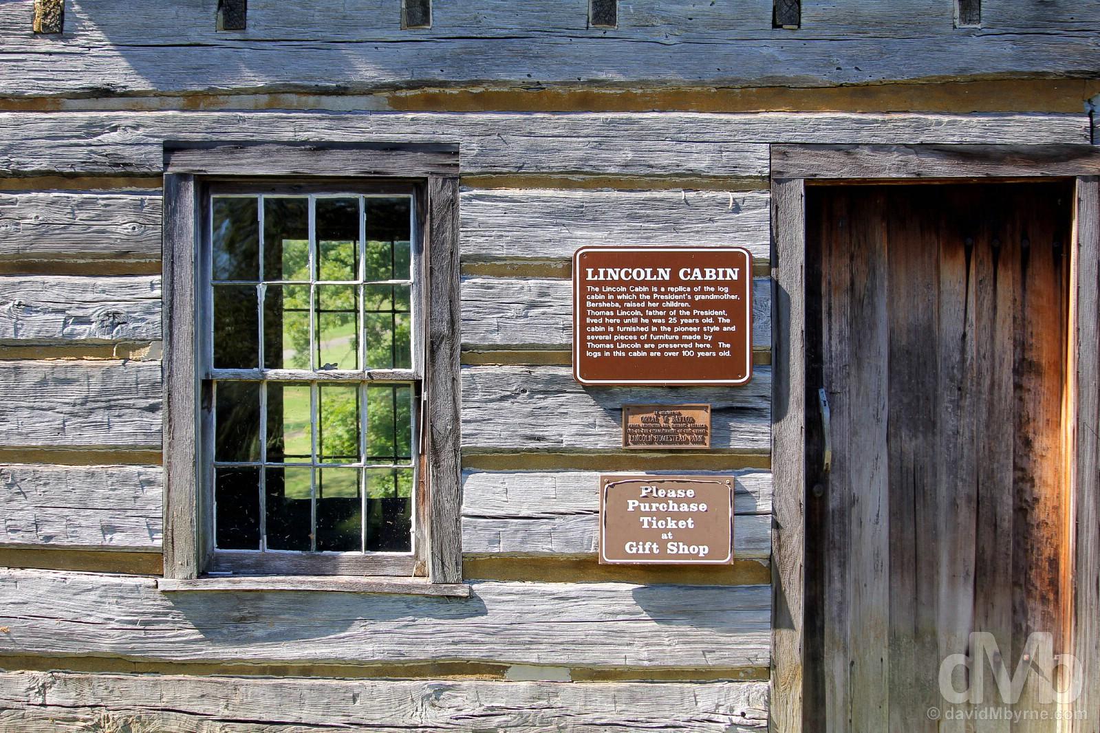 Lincoln Homestead State Park, Washington County, Kentucky, USA. September 27, 2016.