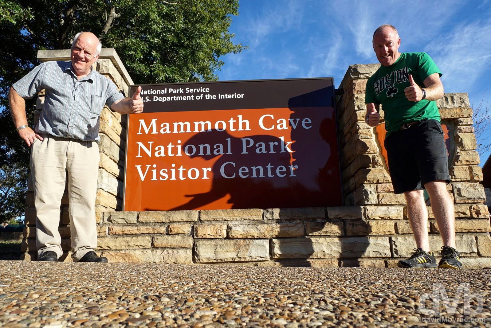 Mammoth Cave National Park, Kentucky, USA. September 27, 2016.
